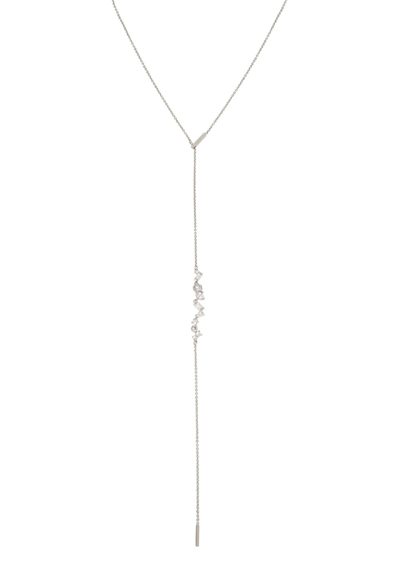 ALLSAINTS Crystal Y-Necklace