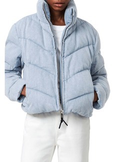 ALLSAINTS Dallas Denim Puffer Jacket