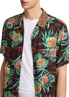 ALLSAINTS Devoir Slim Fit Button-Down Shirt