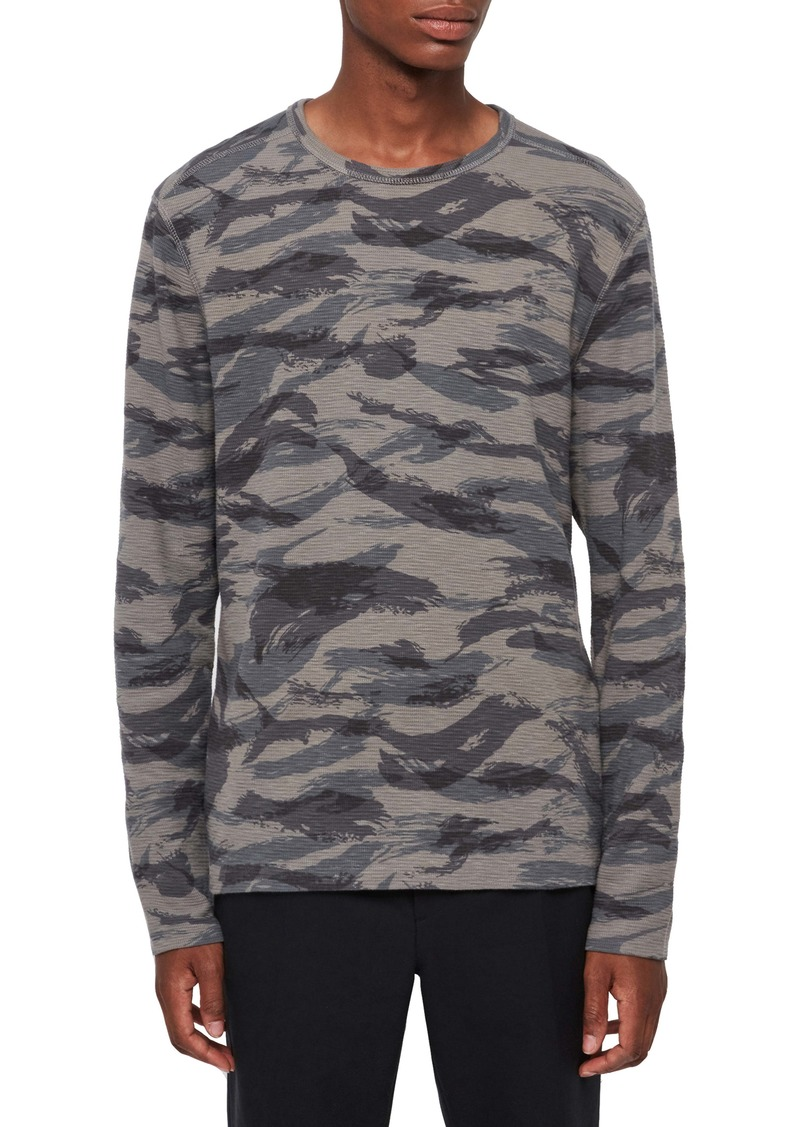 ALLSAINTS Disguise Regular Fit Long Sleeve Crewneck T-Shirt