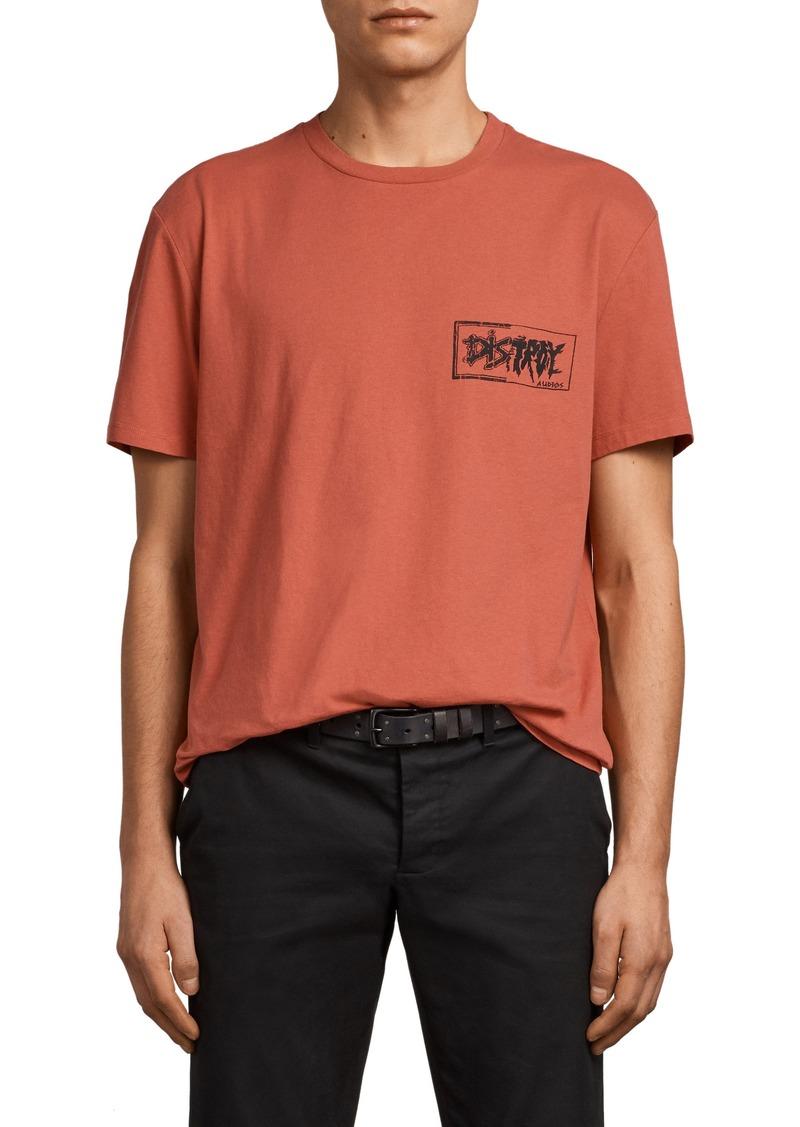 2c0df961b AllSaints ALLSAINTS Distroy Graphic T-Shirt   T Shirts