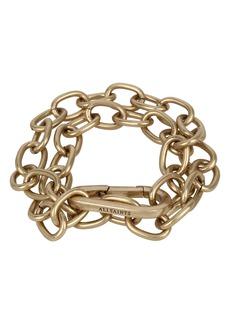 ALLSAINTS Double Chunky Chain Link Bracelet