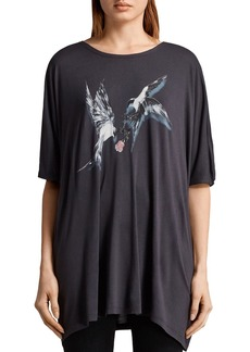 ALLSAINTS Dreams Lovers Oversized Graphic Tee