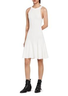 ALLSAINTS Elsa Racerback Rib-Knit Dress
