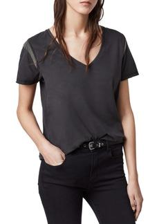 ALLSAINTS Emelyn Chain Detail T-Shirt