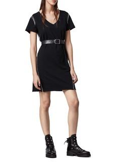 ALLSAINTS Emelyn Chain Detail T-Shirt Dress