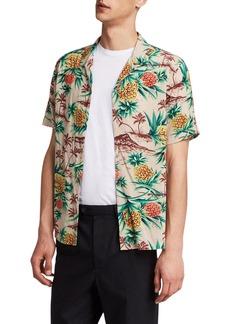 ALLSAINTS Endeavour Regular Fit Short Sleeve Sport Shirt