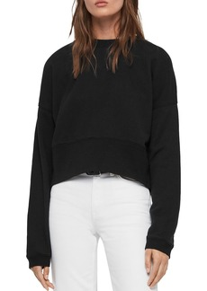 ALLSAINTS Enrico Cropped Sweatshirt