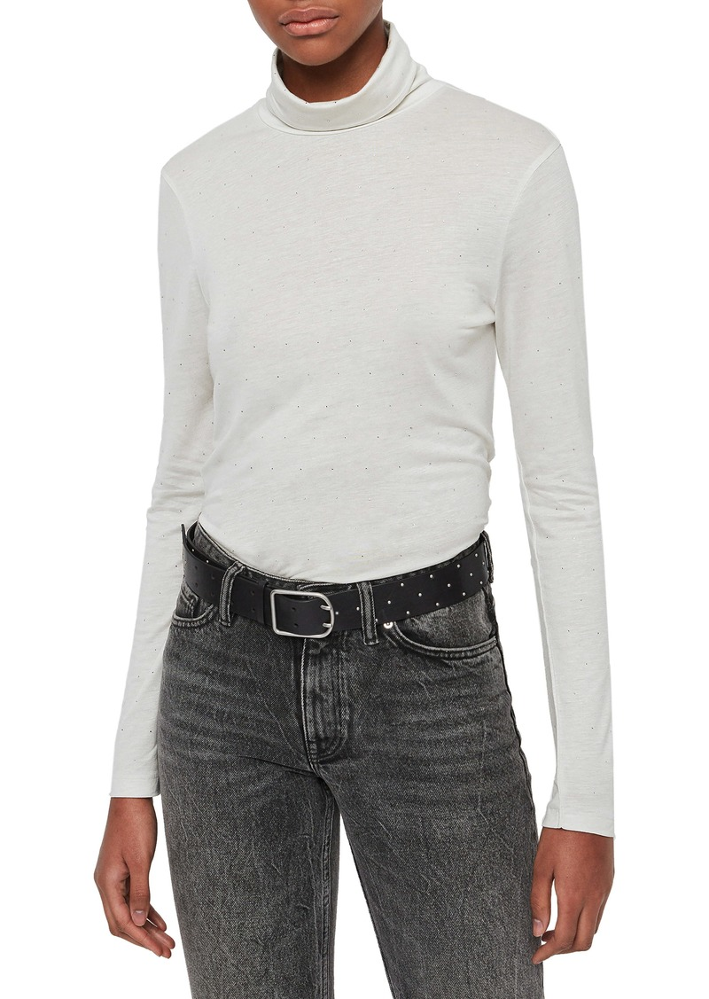 ALLSAINTS Esme Turtleneck Top