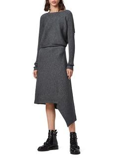 ALLSAINTS Eva Merino Wool Sweater Dress