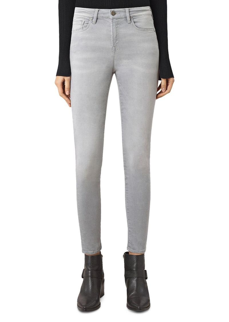 ALLSAINTS Eve Lux Jeans in Steel Grey