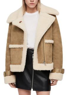 ALLSAINTS Farley Genuine Shearling Jacket