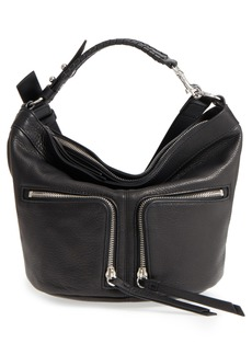 ALLSAINTS Fetch Leather Crossbody Bag