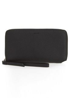 ALLSAINTS Fetch Leather Phone Wristlet