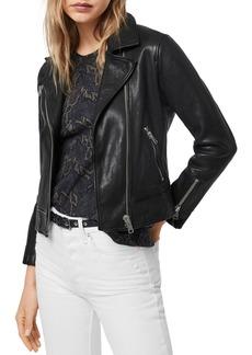 ALLSAINTS Fia Leather Biker Jacket
