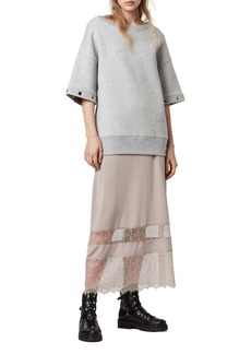 ALLSAINTS Fran Two-Piece Top & Lace Dress