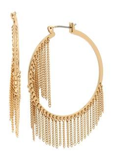 ALLSAINTS Fringe Hoop Earrings