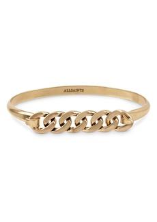 ALLSAINTS Frozen Chain Bangle Bracelet