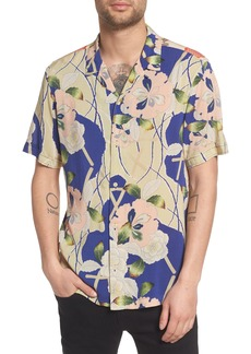 ALLSAINTS Fuyugi Regular Fit Short Sleeve Sport Shirt