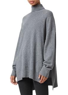 ALLSAINTS Gala Cashmere Turtleneck Sweater