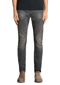 ALLSAINTS Galendo Rex Slim Fit Jeans in Gray