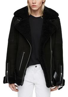 ALLSAINTS Garrix Genuine Shearling Jacket
