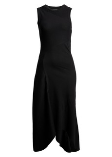 AllSaints Gia Sleeveless Rib Maxi Dress