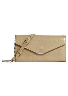 ALLSAINTS Glitz Leather Chain Wallet
