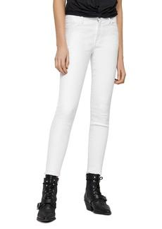 ALLSAINTS Grace Ankle-Length Frayed Jeans
