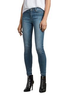 ALLSAINTS Grace Skinny Jeans in Fresh Blue