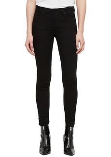 ALLSAINTS Grace Skinny Jeans (Jet Black)