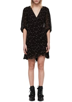 ALLSAINTS Gracie Nala Wrap Dress
