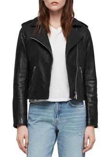 ALLSAINTS Hadi Leather Biker Jacket