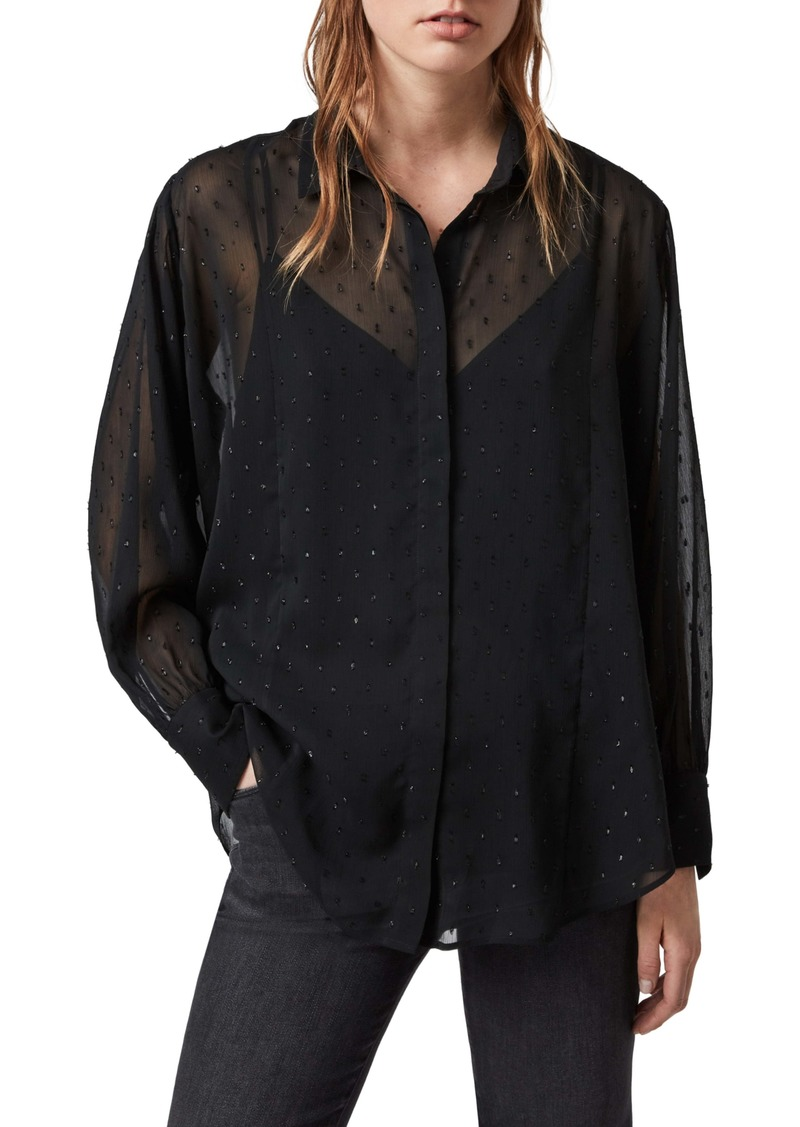 ALLSAINTS Harriet Sparkle Shirt