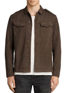 ALLSAINTS Hauptmann Slim Fit Button-Down Shirt