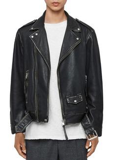 ALLSAINTS Hawley Leather Biker Jacket