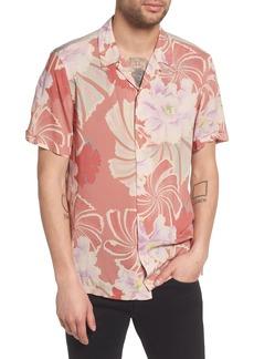ALLSAINTS Helix Regular Fit Short Sleeve Sport Shirt