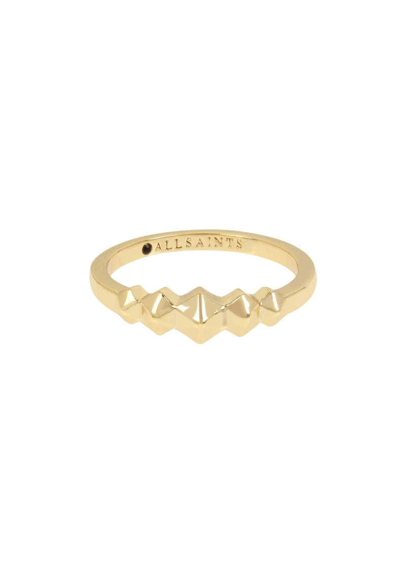 ALLSAINTS Hex Band Ring