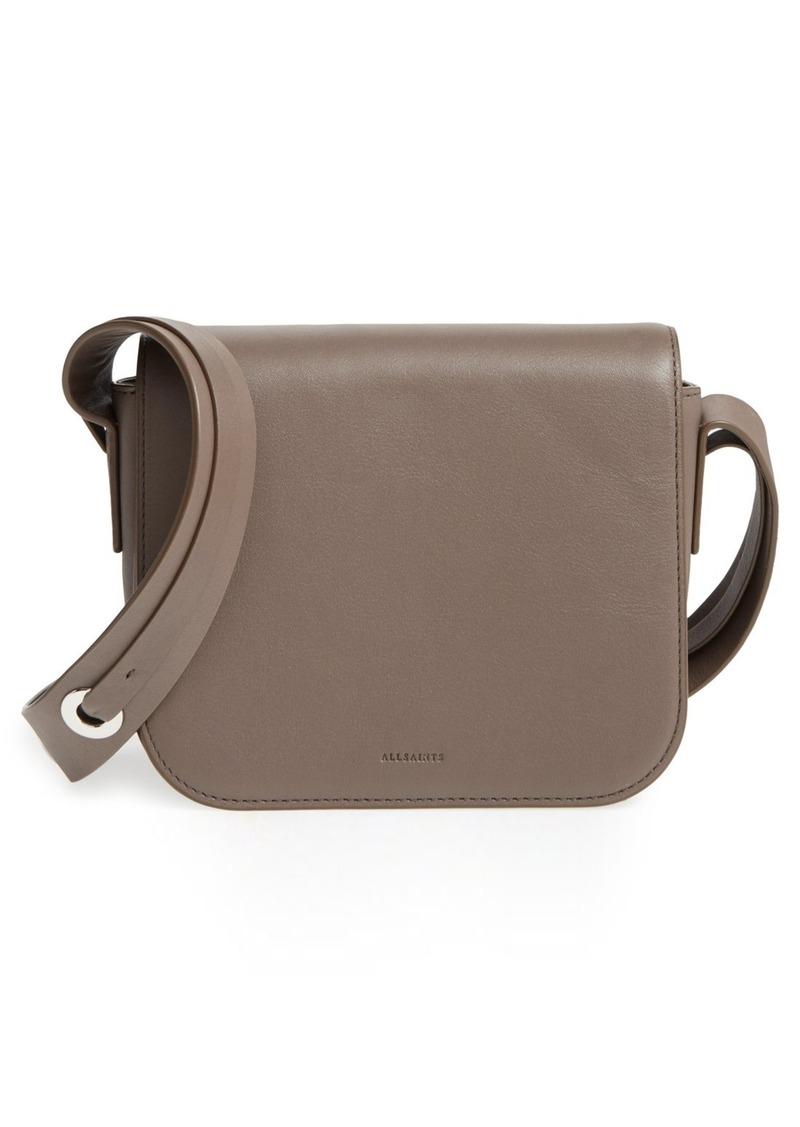 d3debec1073ed AllSaints ALLSAINTS 'Ikuya' Leather Crossbody Bag | Handbags