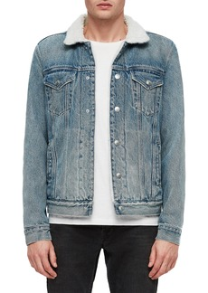 ALLSAINTS Interbay Regular Fit Denim Jacket