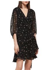 ALLSAINTS Jade Aster Wrap Dress