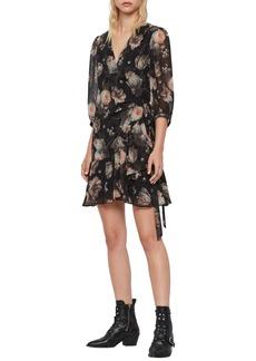 ALLSAINTS Jade Eden Wrap Dress