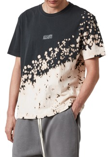 AllSaints Jaxx Splatter T-Shirt