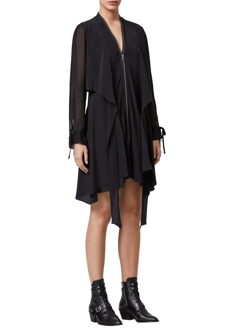 ALLSAINTS Jayda Long Sleeve Dress