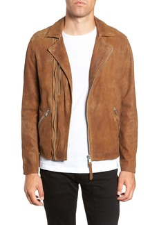 ALLSAINTS Judd Slim Fit Leather Biker Jacket