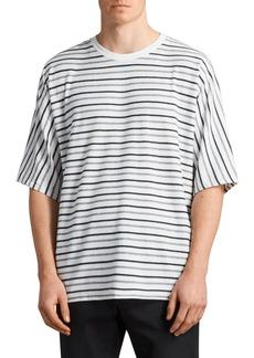 ALLSAINTS Jules Oversize Stripe T-Shirt