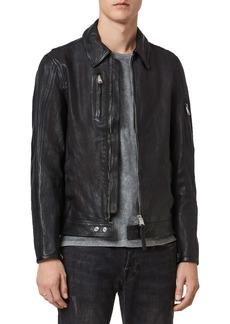 AllSaints Kaleb Leather Jacket