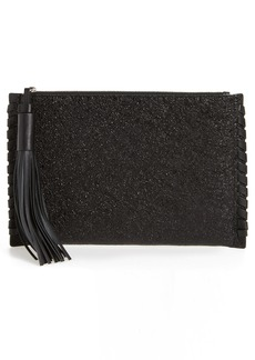 ALLSAINTS Kepi Leather Zip Pouch