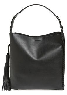ALLSAINTS Kepi North/South Leather Tote