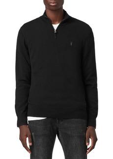 ALLSAINTS Kilburn Quarter Zip Sweater